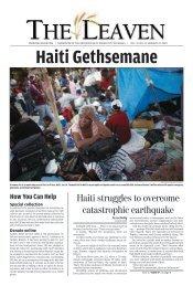 Haiti struggles to overcome catastrophic earthquake - The Leaven