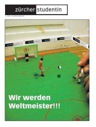 Wir werden Weltmeister!!! - Zs-online.ch