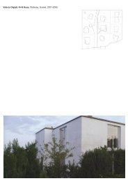 Valerio Olgiati, K+N Haus, Wollerau, Suisse, 2001-2005
