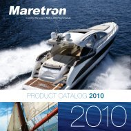 PRODUCT CATALOG 2010 - Maretron