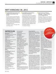 HEFT VORSCHAU 06 . 2012 - Wirtschaftsinformatik Online
