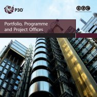 Overview of P3O from Lead Author Sue Vowler - Best Management ...