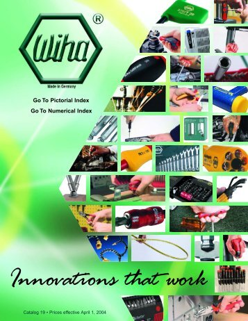 Wiha Quality Tools • 2 - Electronic Fasteners Inc