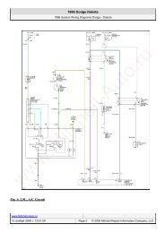 Fig. 1: 2.5 L, A/C Circuit