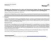 Richtlinien des Departementes für Justiz und Sicherheit des ...