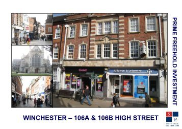 WINCHESTER – 106A & 106B HIGH STREET - Smith Price