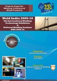 weld india expo - The Indian Institute of Welding