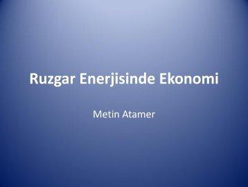 Ruzgar Enerjisinde Ekonomi - ICCI