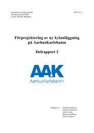 Delrapport 2 - Kemiteknik - Lunds Tekniska Högskola
