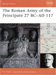 The Roman Army of the Principate 27 BC-AD 117 - Historia Antigua