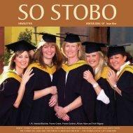 WINTER 2006 / 07 Issue Nine NEWSLETTER - Stobo Castle