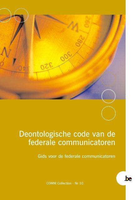 Brochure COMM 10 N - Fedweb - Belgium