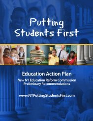Education Action Plan - Governor Andrew M. Cuomo - New York State