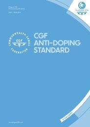 CGF-Anti-Doping-Standard