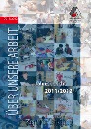 Jahresbericht - Arbeit und Leben