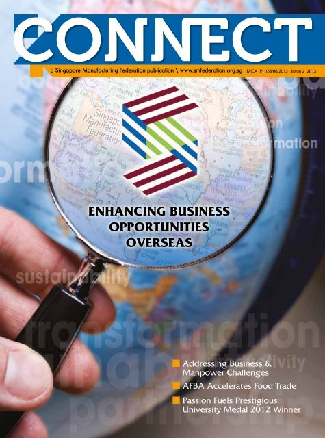 Download the latest issue now - Singapore Manufacturing Federation