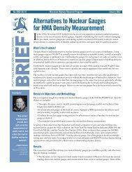 Alternatives to Nuclear Gauges for HMA Density Measurement ...