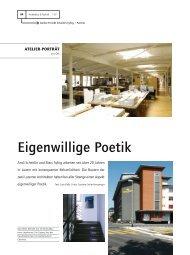 Eigenwillige Poetik - Architektur & Technik