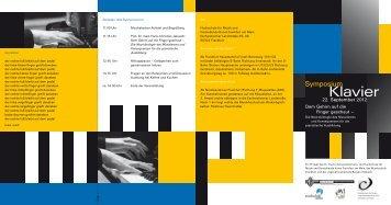 Symposium Klavier