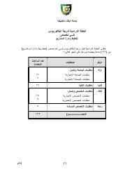 اﻟﺨطﺔ اﻟدراﺴﻴﺔ ﻟدرﺠﺔ اﻟﺒﮐﺎﻟورﻴو س ﺘﺨﺼ ص ﻲـﻓ - جامعة البلقاء التطبيقية