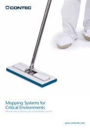 6 x 7 6 x 7 Contec 2646 Dynamate QuickConnect Lightweight Mop Head Frame Compatible with Edgeless Mop