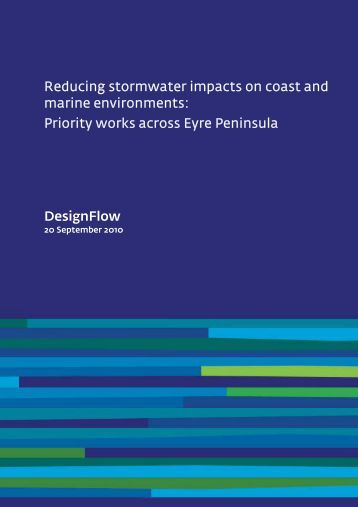 Reducing stormwater impacts on coast and marine environments ...
