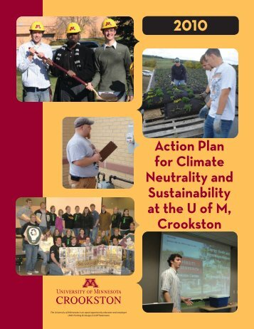 Action Plan for Climate Neutrality and Sustainability - University of ...