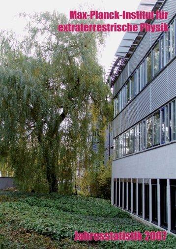 Publikationen ingesamt in 2007 (nach Typ) - Max Planck Institut für ...