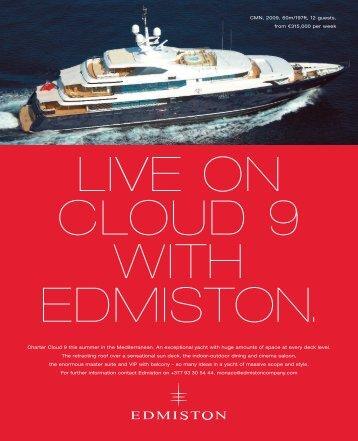 Boat International Advertising - Edmiston