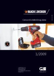 katalog Black&Decker proizvoda - Unior Teos alati doo