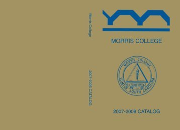Business Administration - Morris College