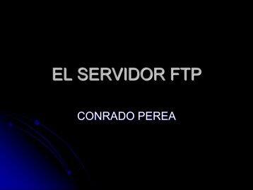 EL SERVIDOR FTP
