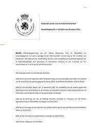 Machtigingsaanvraag van het Vlaams Agentschap Zorg en ...