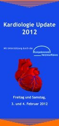 Kardiologie Update 2012 - KelCon GmbH