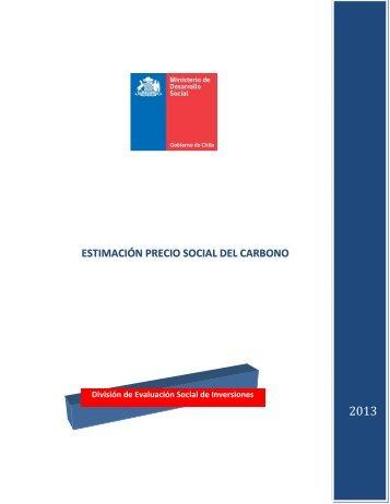 estimación precio social del carbono - Sistema Nacional de ...