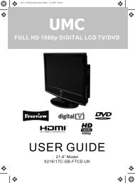 FULL HD 1080p DIGITAL LCD TV - UMC - Slovakia