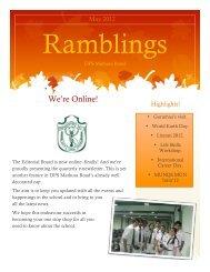 We're Online! - Delhi Public School, Mathura Road