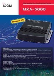 MXA-5000 - Icom France