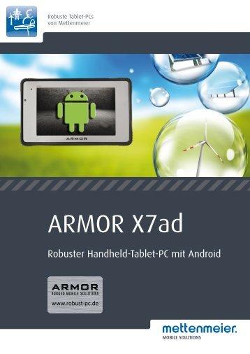 Datenblatt ARMOR X7ad - Robust-pc.de