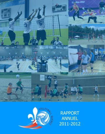 RAPPORT ANNUEL 2011-2012 - Volleyball Québec