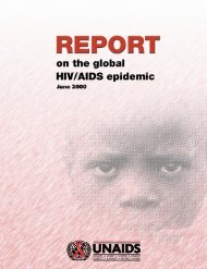 Care and support for people living with HIV/AIDS