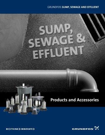 Sump, Sewage, Effluent Brochure - Boston Heating Supply