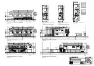 proposed street fencing elevation one bed ground floor plan one ...
