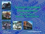 Transit-Oriented Development - Land Use Law