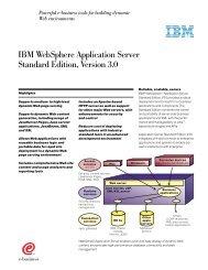 IBM WebSphere Application Server Standard Edition, Version 3.0