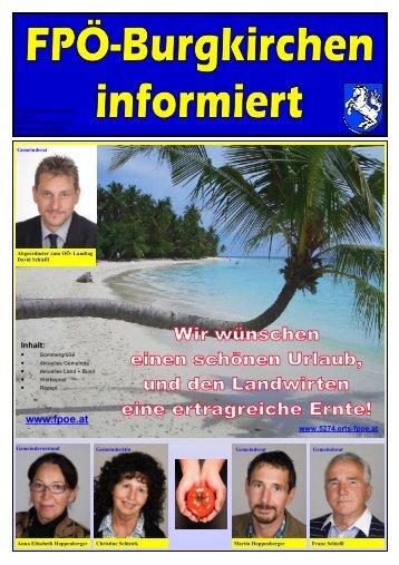 Werbezeitung gesamt - Burgkirchen