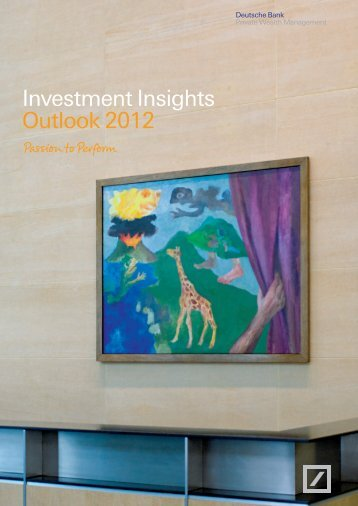 Investment Insights Dezember 2011 - DWS Investments
