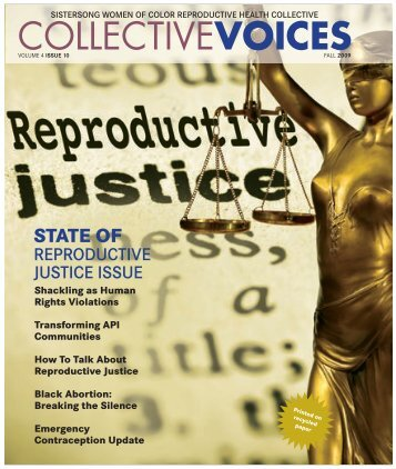 Collective Voices, Volume 4, Issue 10 - Fall 2009 - SisterSong