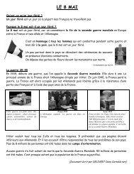 LE 8 MAI - Pass Education