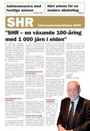 """SHR – en växande 100-åring med 1 000 järn i elden"""" - Visita"""
